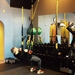 Owner Kevin Smyth of Fit Cleveland demonstrates how to use TRX